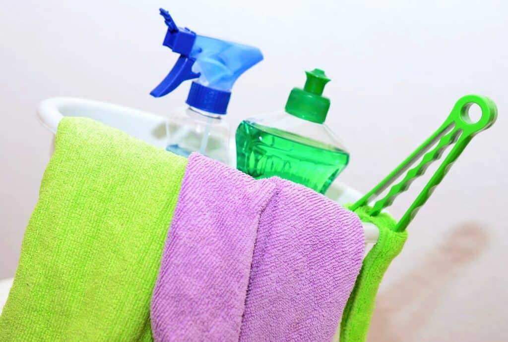 limpiar en tu casa