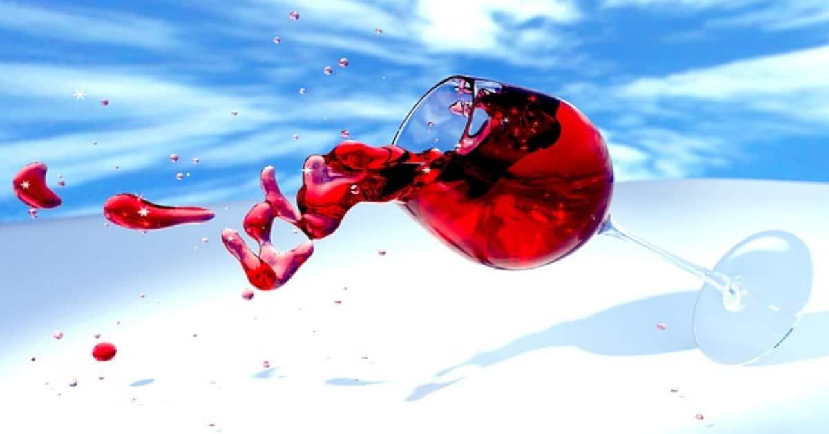 manchas de vino tinto