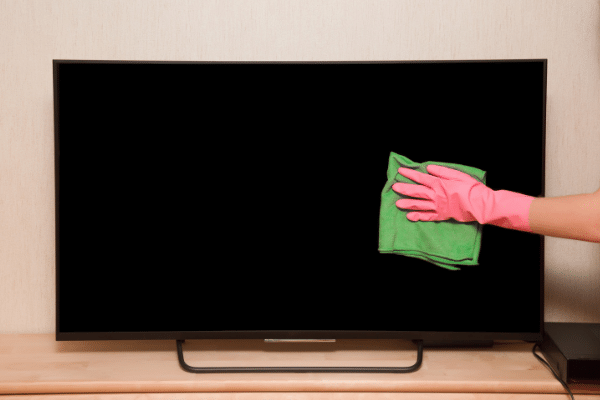 Cómo limpiar la pantalla de la tele sin dañarla, paso a paso 0